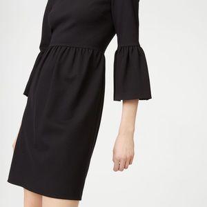 Club Monaco Black Loalla Ponte Knit Dress